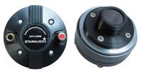 Wholesale Radio Horn Speakers - Wholesale- STARAUDIO 2Pcs 25MM 1000W 8 Ohms Titanium Compression Horn Speaker Driver Tweeters SDV-25MM