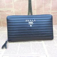 Wholesale Genuine Leather Handbag Clutch - Top PU 2016 Synthetic Leather High Quality Men's Handbags Pocket Card Handbag Wallets Man's Clutch Men's Wallet