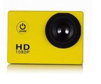 Wholesale Hdmi Meters - 2017new SJ4000 freestyle D001 2-inch LCD 1080P Full HD HDMI action camera 30 meters waterproof DV camera sports helmet SJcam DVR00Multicolor