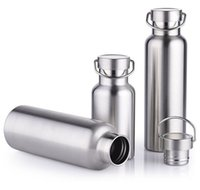 Wholesale Thermos Flask Large Capacity - Vacuum Water Bottle Insulated Stainless Steel Thermos Bottle Large Capacity Sports Kettle Ourtdoor Thermos Flask Travel Vacuum Cup HOT