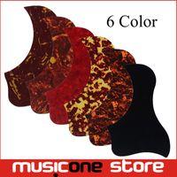 Wholesale acoustic color - Multi Color Acoustic Guitar Pickguard Pick Guard Sticker Comma Style Available MU1318