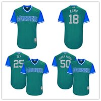 Men spun sugar - Seattle Mariners Hisashi Iwakuma quot Kuma quot Edwin Diaz quot Sugar quot Marc Rzepczynski quot Zep quot Nick Vincent quot Hubba Hubba Players Weekend Authentic Jersey