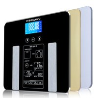 Wholesale Bathroom Scale Fat - Mini Household Electronic Scales Scales Multifunctional Body Fat Scale Body Fat Scales Health Body Fat Analyzer Body Scale Precision