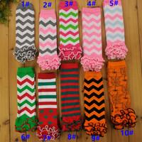baby mädchen socken strumpfhosen großhandel-2019 Weihnachten Halloween Kinder Baby Mädchen Socken Baby Beinlinge Socke Kniepolster Engen Strumpf Socken Kinder Kleidung