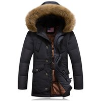 Wholesale Size Coat Maxi - Fall-Maxi Winter Jacket Men Coat Plus Size Mens Jackets And Coats Parka Manteau Homme Hiver Abrigos Hombres Invierno Hot Sale #013