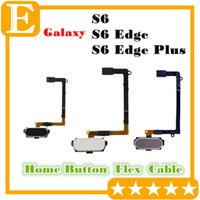 Wholesale Galaxy Home Buttons - OEM For Samsung Galaxy S6 Edge Plus Home Button Return Key pad Menu Button Flex Cable Replacement parts for G920 VS G925 G928