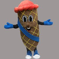 Wholesale Ice Cream Mascot Costumes - High quality new style Summer Ice-cream Costume Halloween Christmas Sweet Foods Cute Ice-cream Cartoon Mascot Clothing Party Fancy Dress