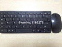 Wholesale Razer Set - 1set 2.4G Black White Wireless PC Keyboard + Mouse Keypad Set For DESKTOP PC Laptop Free Shipping