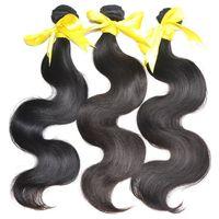 Wholesale Eurasian Natural Wave - No1 Selling 8A Grade MikeHAIR Eurasian Filipino Peruvian Indian Malaysian Brazilian Hair Weaves Hair extension Body Wave Human Hair Weft