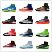 Chaussures de soccer Mercurial Superfly V SX Neymar Chaussures de football Superfly V CR7 TF Chaussures de football Mercurial X Proximo II TF