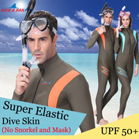 Wholesale Wetsuit 2xl - Brand Anti UV Wear Lycra Dive Skin Wetsuit Adult Rash Guard One Piece Jump Stinger Suit Men Women Swim Snorkeling Surf Water