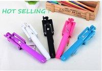 Wholesale E8 Light - 2016 hot gadgets light portable and foldable 21-81cm 270 degree mini selfie stick monopod OEM ODM 20PCS #E8