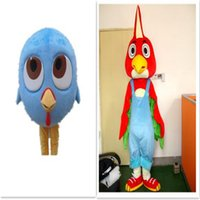 Wholesale Chicken Costume White - Thanksgiving turkey Turkey Chicken Mascot Costumes Fancy Dress Halloween Party Cartoon Adult Size factory direct Mascot Costumes For Family