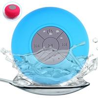 Wholesale Hifi Music Speaker - Shower Speakers Wireless Bluetooth Mini Speaker Subwoofer Waterproof Car Handsfree Call Music HIFI Mic