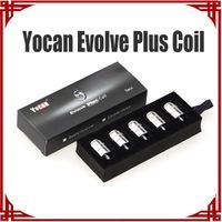 Wholesale E Sp - [ sp ] Hot Selling Yocan Evolve Plus Coils Evolve-D Evolve Ceramic Quartz Dual Coils E Cigarettes Coil QDC coil for Evolve Vaporizer
