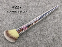 Wholesale Make Up Blusher Brush - Brand Professional Makeup Brushes it cosmetics brush for ULTA #227 live beauty fully flawless blush make up blending contour brush kit.