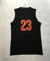 Schwarz 2016 Finals Champions Basketball Jersey # 23 Herren-Basketball-Shirts Top-Qualität Basketball Wear Spieler Trikots Sttched Name und Nummer