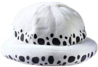 ingrosso cappelli del medico-Costume anime giapponese One Piece Costume Hat Trafalgar Law 2 anni più tardi Cappelli bianchi Caldo e carino cap Cosplay Doctor law Hat