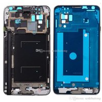 Wholesale Cheap Galaxy Note3 - Original Front Housing Frame For Samsung Galaxy Note3 Best Cheap Replacement Cell Phones Parts Middle Frame Housing for N9002 NOTE3N9002MFH