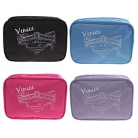 Wholesale Mens Bedding - Wash Bag Toiletry Toiletries Travel Make Up Mens Ladies Hanging Folding 5 Colors 25 * 17 * 8.5 CM order<$18no track