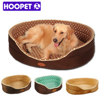 Wholesale Large Oval Dog Beds - Double sided available all seasons Big Size extra large dog bed House sofa Kennel Soft Fleece Pet Dog Cat Warm Bed s-xl