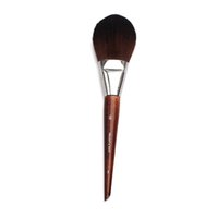 Wholesale precision lights - Professional Cosmetic Tool Long Wood Handle Soft Synthetic Hair Flat Tapered Tip 128 Flexibility Precision Makeup Powder Brushes