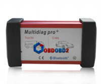 Wholesale Wlan Card Bluetooth - Newest Multidiag Pro+ With Bluetooth+4GB TF Card+Plastic box For Trucks And Cars Support Newest Version TCS CDP Plus M47214