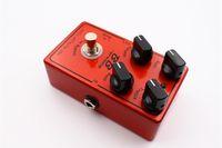 gitar için destek toptan satış-BB Preamp Overdrive Ve Boost Gitar Efekt Pedal Ve Gerçek Bypass