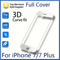 iphone mat cam toptan satış-Renkli karbon fiber mat çelik film için iphone 7 plus iphone 6 6 s artı patlamaya dayanıklı temperli cam tam kapak ekran koruyucu film
