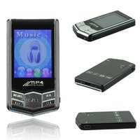 "Wholesale Mini Mp4 Digital Player - DHL fast 1.8"" TFT Screen Digital mini 8GB slim MP4 player MP3 music Player black Diamond x-mas with memory card"