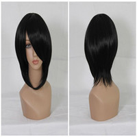 Wholesale Hetalia Wigs - Popular Axis Powers Hetalia Fashion Black 35cm Short Straight Man Cosplay Wig