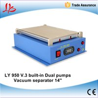 Wholesale Separator Separating Machine - New LY 950 V.3 LCD 14 inch Separating Machine with 2 Buit-in air pumps for i pad and mobile,vacuum LCD separator