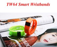 Wholesale Cheapest Wristbands Wholesale - Cheapest TW64 Smart Bracelet Bluetooth Smart Wristbands smart watch Waterproof & Passometer & Sleep Tracker Function for android ios