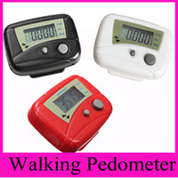 Hot Sale LCD Step Pedometer Walking Distance Clip Calorie Running Digital Counter Passometer Miltifunction cadeaux de sport de plein air
