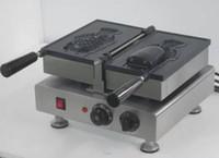 Wholesale Waffle Sticks Maker - Free shipping One Pcs Big Fish Waffle Maker Ice Cream Taiyaki Machine With Non-stick pan