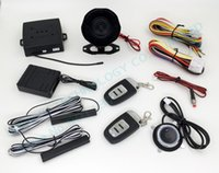 Wholesale Pke Push Start Buttons - RFID car alarm,smart key car security system,PKE antenna,push start button,bypass keyless entry HY-904 chip avoidance device RM2