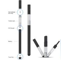 Wholesale Cartridge Refill Kit - refill oil vape pen cartridges bud touch shenzhen mini e cigaretteVape Kit with 8mm Diameter and 0.3ml Tank for Burning Thick Oil