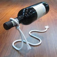 2017 Creative Chain Ring Wine Rack Magical Suspended Free Stand Chain Wine Holder Metal Handicraft Home Decor Gratuit DHL XL-G191