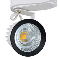 Wholesale Track Lighting Best Prices - Wholesale-New Design Retail Sale 10pcs lot 15W AC110-230V Noverty COB Led Track Light,Spot Wall Lamp,Spotlight High quality best price