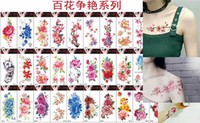 Wholesale Tattoo Sticker Factory - 600 designs body art 3D tattoo stickers 2017 for men and women waterproof safe stickers factory price