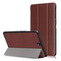 ультра-случай оптовых-Ультра тонкий смарт-чехол защитный чехол стенд для Samsung Galaxy Tab S3 9.7 Tablet чехол для Samsung T820/T825