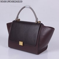 Wholesale Locking Block - Latest Bat Bags Women Leather Totes Original Leather and hardware plain block colors cacual bags fast free shipping