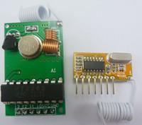 Wholesale Channel Encoder - 315MHz Arduino PT2262 encoder Arduino Decoder RF Transmitter Receiver Link Kit