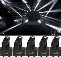 Großhandel Führte Dj Lichter China Kaufen -Großhandels-6xLOT DHL-freies Verschiffen 10W 4in1 RGBW LED Mini Moving Head Beam Licht Ultra Bright CREE Lampe Stadium DJ zeigen Zuhause-Party aus China
