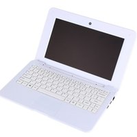 Wholesale Cheap Stock China Wholesalers - mini Netbook 10.1 inch Quad core 1.33GHz 1GB+16GB 0.3MP Camera Cheap Laptop notebook in stock 010250
