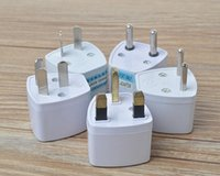 Wholesale Uk Ac Plug Type - Universal World Travel different type to UK   AU   EU   US travel adapter UK   AU   EU to US AC Power Plug Travel Adapter