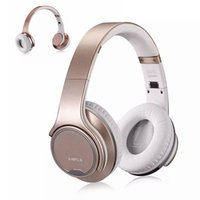 Беспроводные наушники Micro SD High Quality Over Ear Stereo Music Casque Bluetooth Rose Gold Headset NFC случка для телевизора