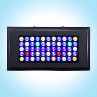Wholesale Full spectrum Dimmable165w led aquarium light for fish tank Coral reef Aquarium Led Lighting Marine plants grow Dropship