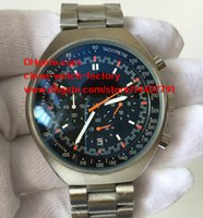 Wholesale Mark X - Luxury High Quality Watch 46mm x 42mm Mark II Co-Axial Stainless Steel VK Quartz Movement Chronograph Working Mens Watch Watches