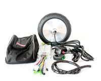 Wholesale Electric Wheels Kit - 36V 150W ELECTRIC KICKSCOOTER MOTOR KIT TOWN 9 SCOOTER MOTOR SET 200*50 MOTOR WHEEL 8 INCH